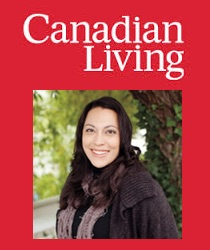 Photo of Jenna Howe and Canadian Living Logo